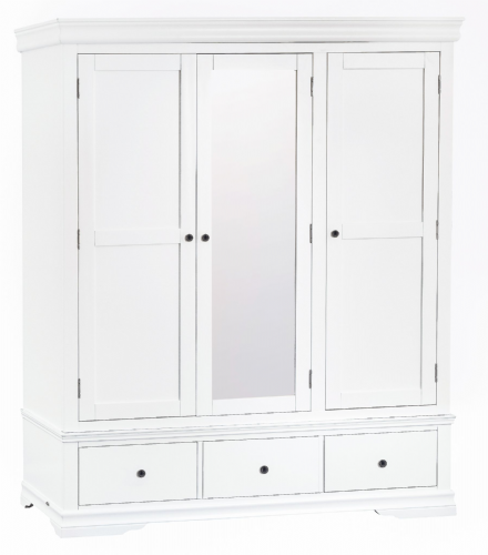 South West Triple Wardrobe